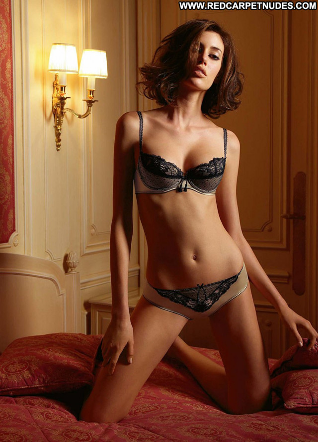 Bianca The Following  Babe Celebrity Posing Hot Beautiful Lingerie