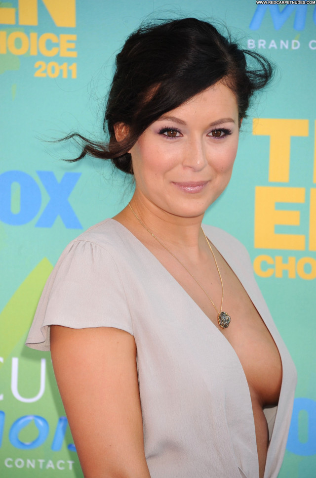 Alexa Vega No Source Teen Celebrity Cleavage Awards Babe Posing Hot