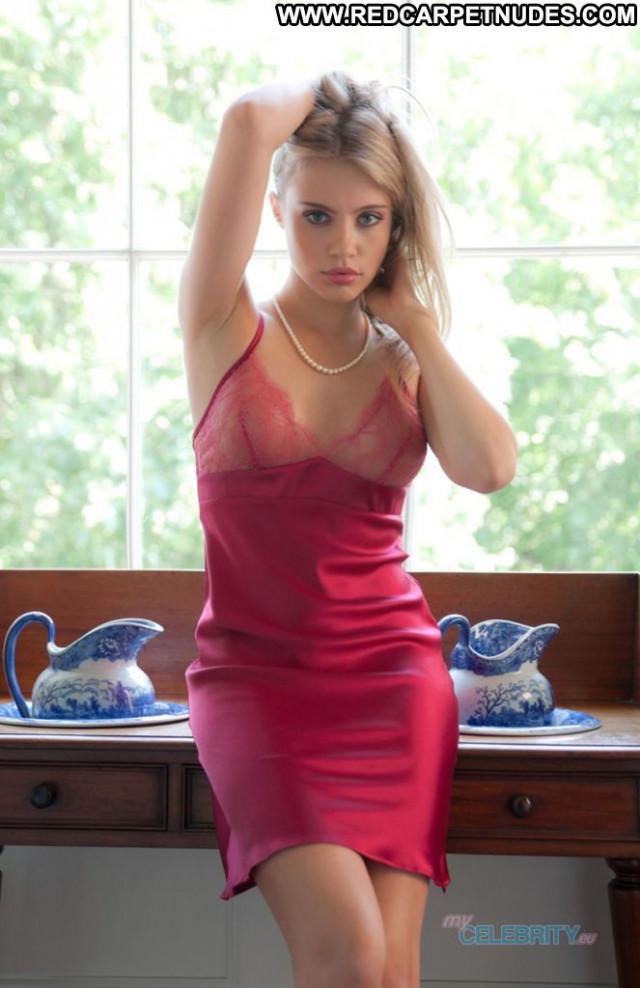 Xenia Tchoumitcheva No Source Lingerie Babe Beautiful Photoshoot