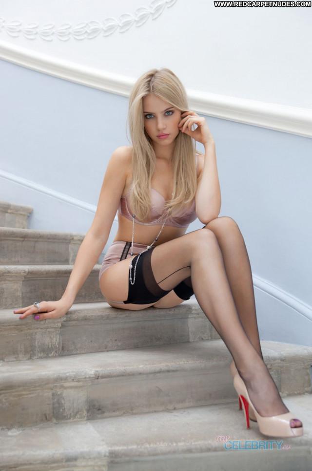 Xenia Tchoumitcheva No Source Photoshoot Babe Posing Hot Lingerie