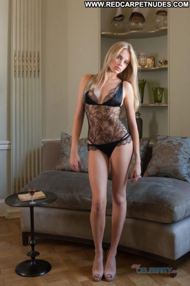 Xenia Tchoumitcheva No Source Posing Hot Beautiful Lingerie Babe
