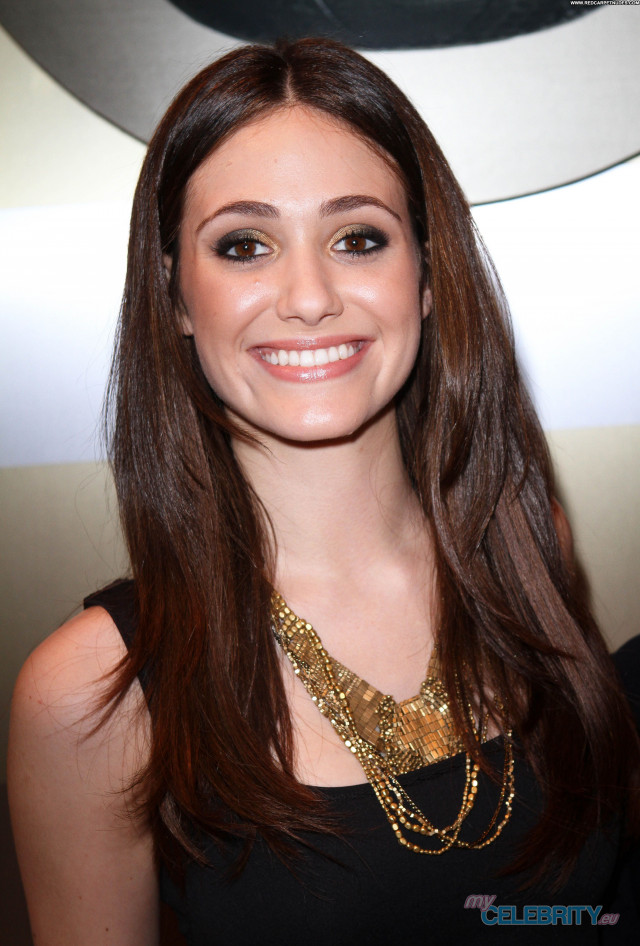 Emmy Rossum No Source Celebrity Beautiful Topless Babe Posing Hot Usa