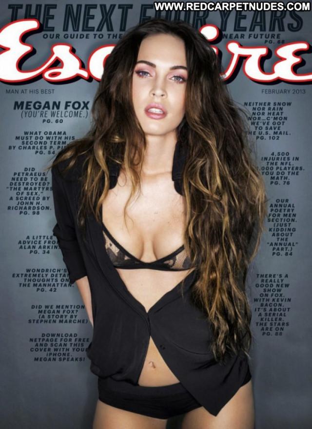 Megan Fox Esquire Magazine Beautiful Babe Celebrity Magazine Usa