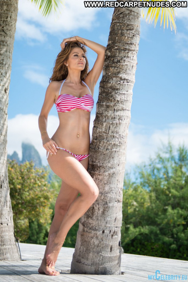 Maria Menounos No Source Bikini Photoshoot Usa Posing Hot Celebrity