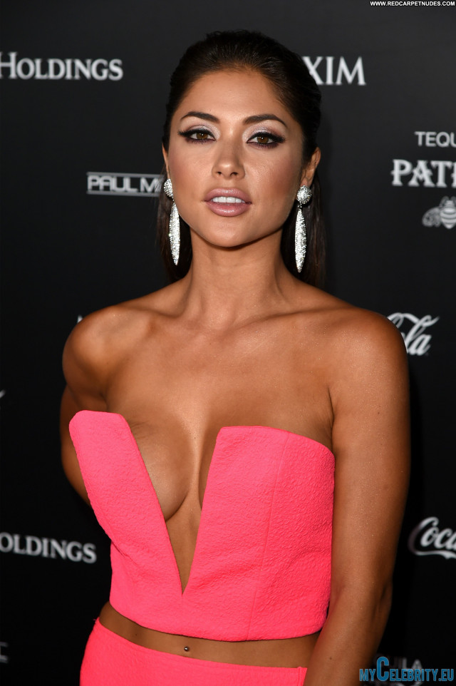Arianny Celeste The Red Carpet Cleavage Babe Hot Beautiful Usa