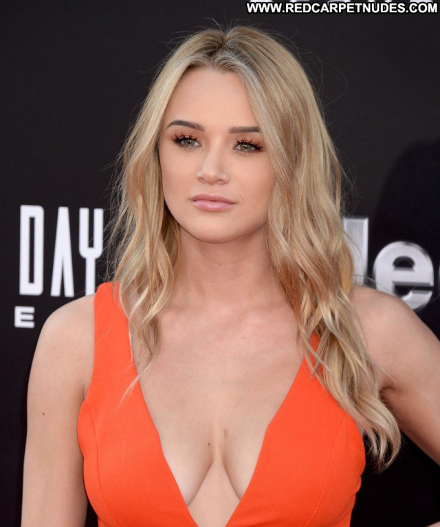 Haley King Independence Day Beautiful Usa Posing Hot Cleavage Babe