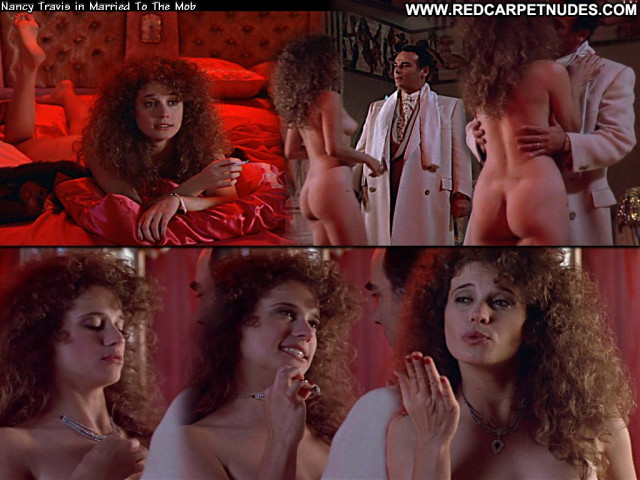 Nancy Travis Married To The Mob Beautiful Posing Hot Babe