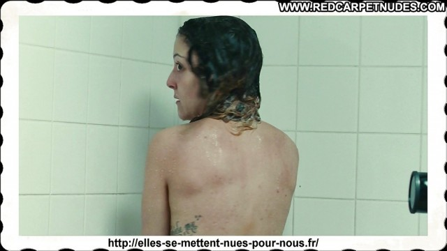 Camille Lellouche The Voice Shower Famous Celebrity Voyeur